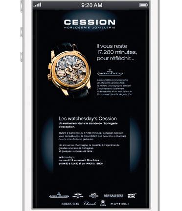 Cession - Horlogerie-Joaillerie